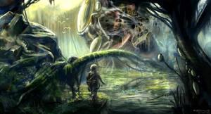 Alien Nest by freakyfir
