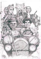 Berverly Ricos - Beverly Hillbillies by FedeBengoa