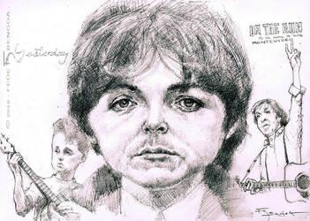 Paul McCartney by FedeBengoa