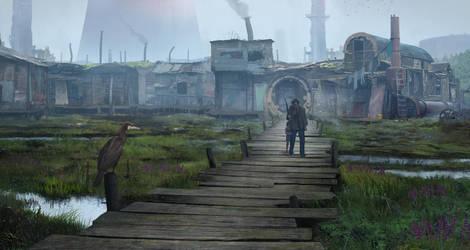 Swamp Slums by Chander-lieve