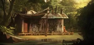 Hermit's House by Chander-lieve
