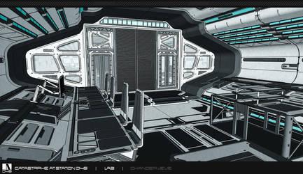 Lab Hallway - Mock-up by Chander-lieve