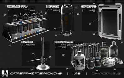 Lab Clutter Props by Chander-lieve