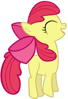 Apple Bloom jumping by Stabzor