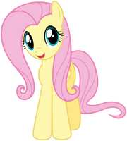 Happy Fluttershy by Stabzor