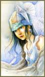 Angel of the foggotten world by MsLetter