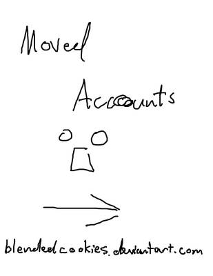 MOVED ACCOUNTS by iHappy-Cookie