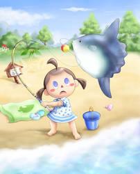Fishing by AlcyoneAX