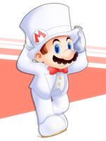 Odyssey Mario by AlcyoneAX
