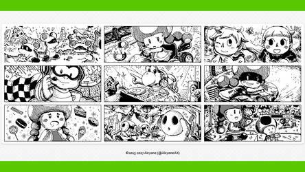 Miiverse Art Selection: Mario Kart 8 by AlcyoneAX