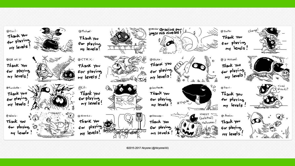 Miiverse Art Selection Super Mario Maker Ex 2 By Alcyoneax On