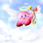 Cupid Kirby by AlcyoneAX