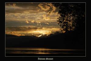Autumn Sunset by hugznstuff