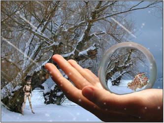 Walking In A Winter Wonderland by hugznstuff