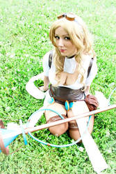 [League Of Legends] Janna Hextech by SissiCosplay