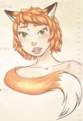 Fox by otterwolf3