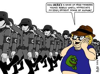 The Alt-Right by RednBlackSalamander
