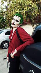 The Joker -Suicide Squad: Are ya sweet talkin' me? by HowlingMalak