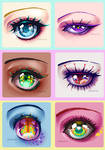 Eyes by iamtabbychan