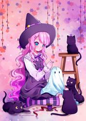 Halloween 2018 by iamtabbychan