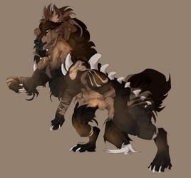 horrid beast by Kairyos