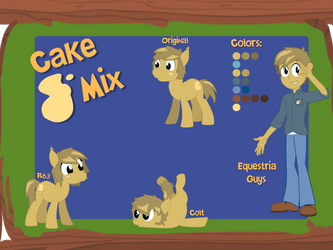 Cake Mix Reference Sheet by jahzi2POINT0