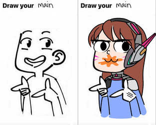 Draw Your Main by jahzi2POINT0