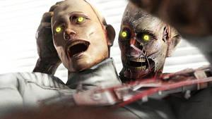 Zombie-Robot by OPyshkin