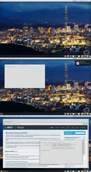 Arch Linux: Desktop Screenshot - 02/12 by artt-m