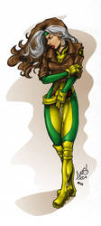 Rogue COLORED by LucasAckerman