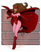 Scarlet Witch COLORED 09 by LucasAckerman