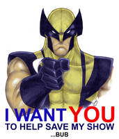 I WANT YOU Wolverine colored by LucasAckerman