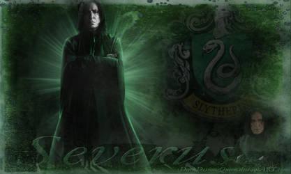 Severus Wallpaper by QueenDevious