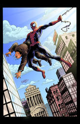 Spidey Commission by lukeradl