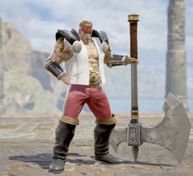 Soul Calibur 6 OC: Gunther Adler by BigBadBroly