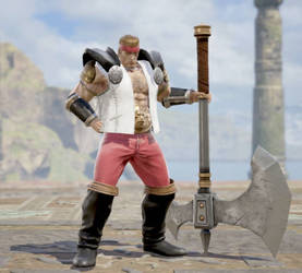 Soul Calibur 6 OC (Updated): Gunther Adler by BigBadBroly