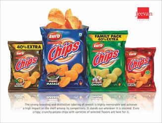 Euro Potato Chips by jeevancreative