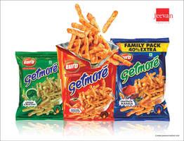 Euro Getmore Snack Sticks Design by jeevancreative