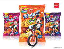 Euro Ringoli Snack Rings Design by jeevancreative