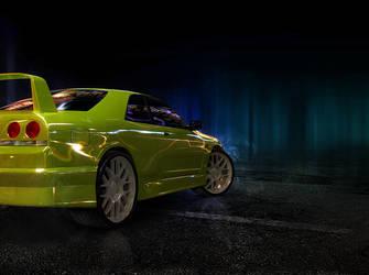 Nissan Skyline R33 by lambda