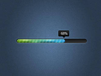 Sleek Progress Bar by nsamoylov