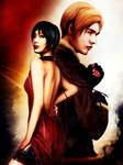 Ada and Leon_Resident Evil 4 A by SiriCC