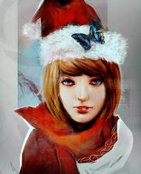Merry Christmas_Max Caulfield by SiriCC