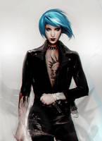 Rock Chloe _Life is Strange by SiriCC