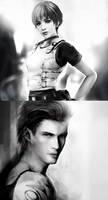 Rebecca Billy_Resident Evil 0 by SiriCC