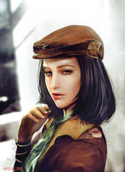 Piper Wright_Fallout 4 by SiriCC