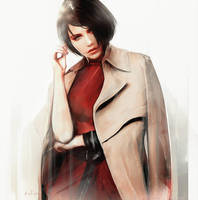Ada Wong _Resident Evil 2 remake by SiriCC