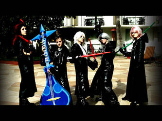 Organization XIII cosplayers by onlyforgottenartis