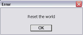 Reset The World by Khultar