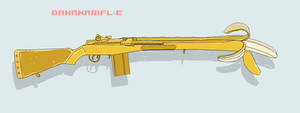 bananarifle by 0llll